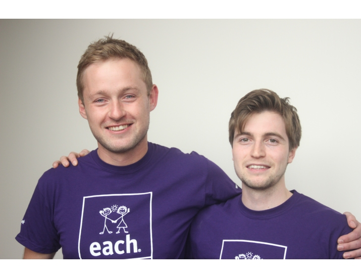 Tim and Tom take on charity skydive image
