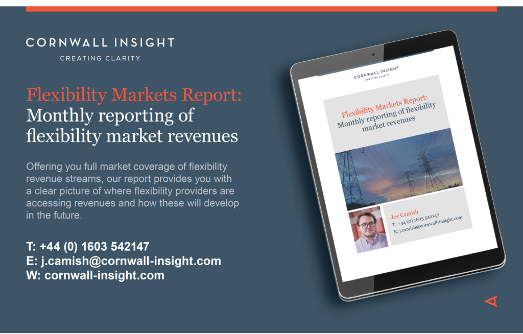 Flexibility event and report services advert